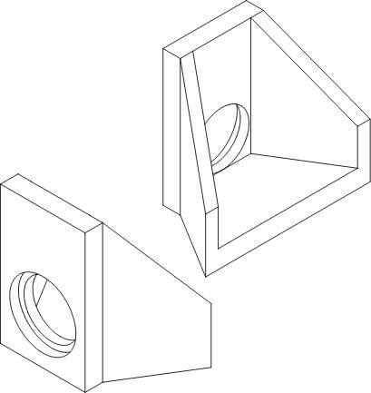 Ścianki oporowe rysunek poglądowy