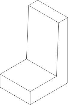 ścianka L rysunek poglądowy