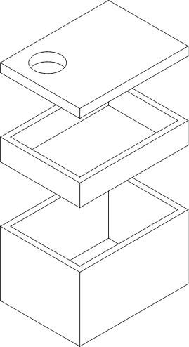 Komora wodomierzowa rysunek poglądowy