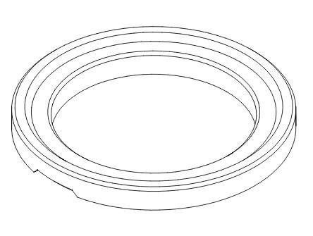 Pierścienie regulacyjne pn rysunek poglądowy