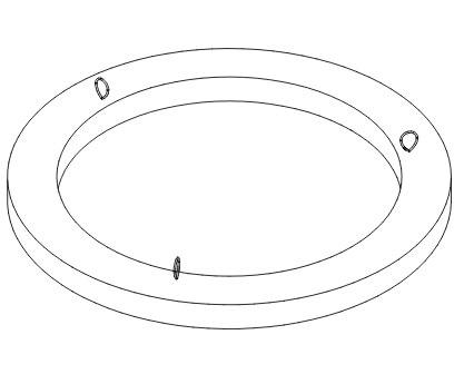 pokrywy pierścienie rysunek poglądowy
